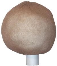 Основа для головы куклы-перчатки из чулка