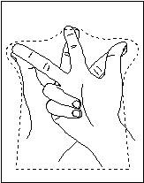 Как правильно снять мерку руки человека для куклы-перчатки