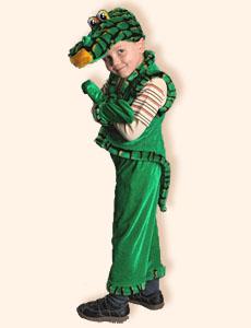 Стихотворение-визитка для карнавального костюма Крокодила